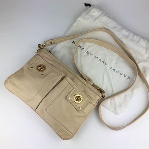 Marc by Marc Jacobs Turnlock Crossbody - Ivory